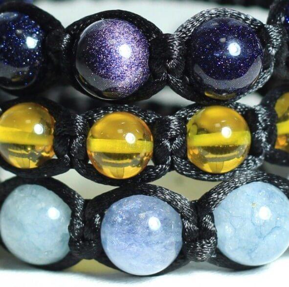Браслеты по знакам зодиака натуральные камни