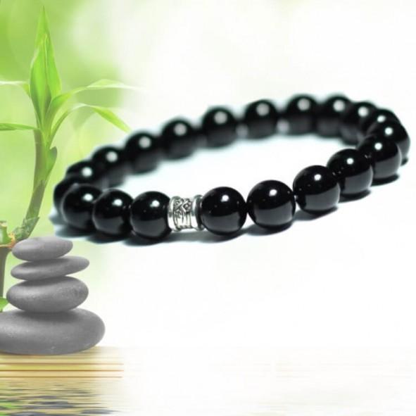 купить браслет из черного нефрита