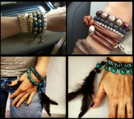 браслеты шамбала на руке